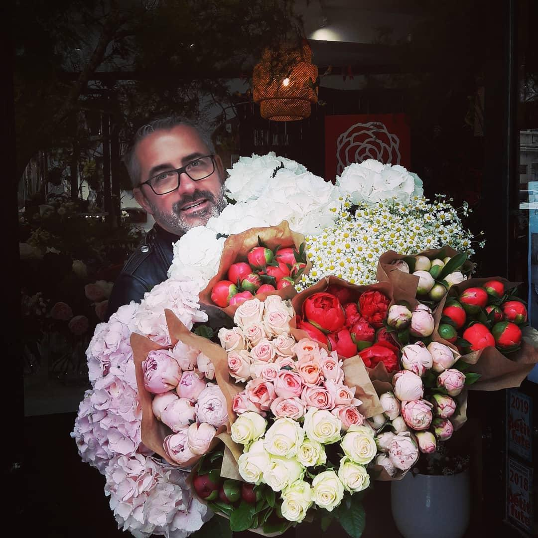 Photo de Jacques Godon de la boutique de fleurs à Caen en Normandie